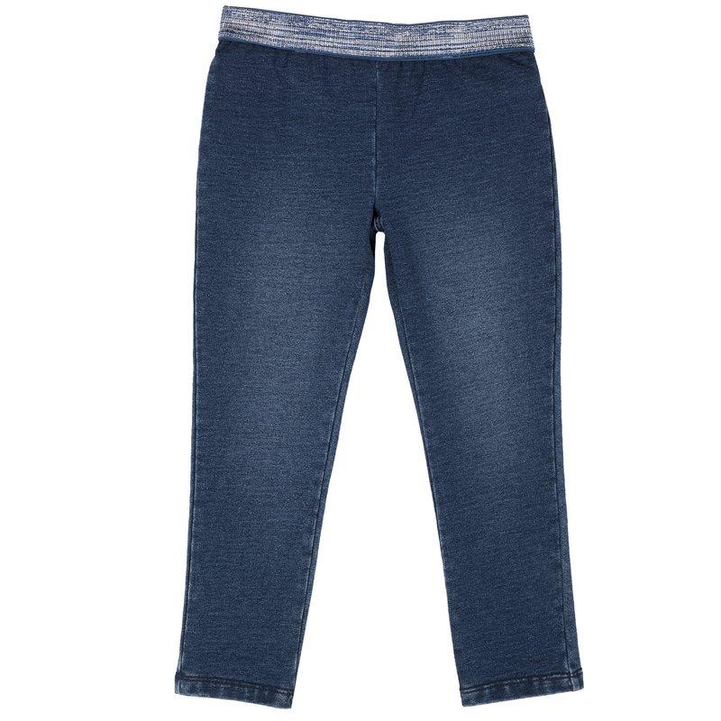 Pantalone denim maglia 9M BLU SCURO