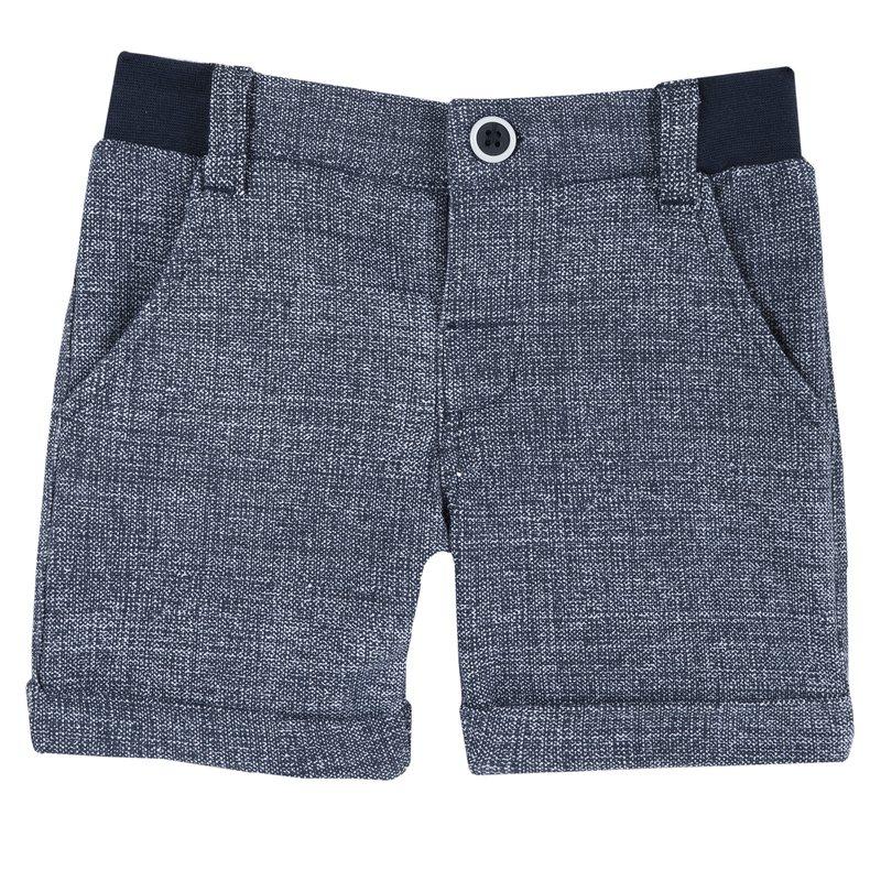Pantalone corto in felpa stretch