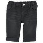 Pantalone con risvoltini 1M GRIGIO SCURO