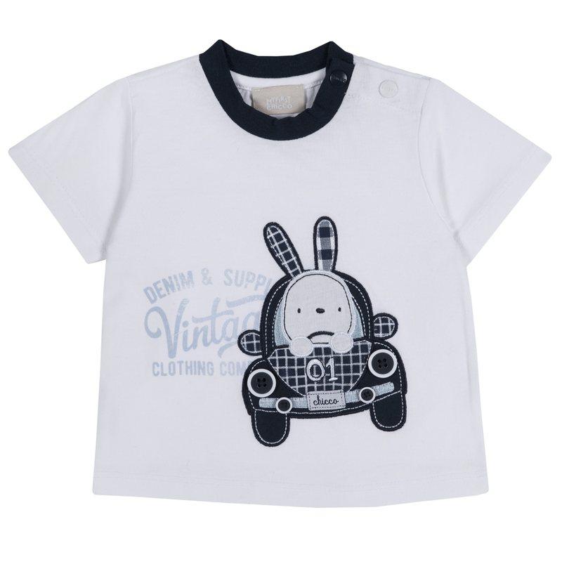 T-shirt con coniglietto
