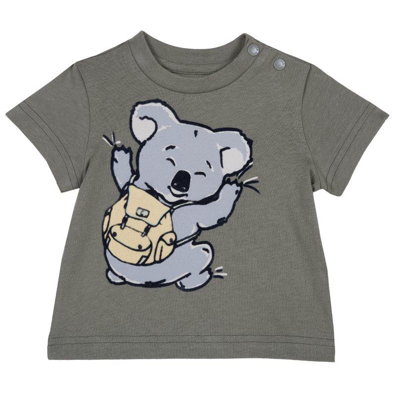 T-shirt di cotone con manica corta