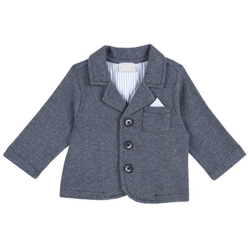 Cardigan piquet maglia