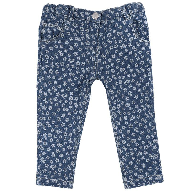Jeans floreale