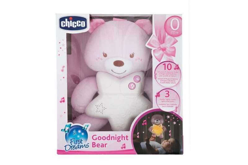 Goodnight Bear Rosa