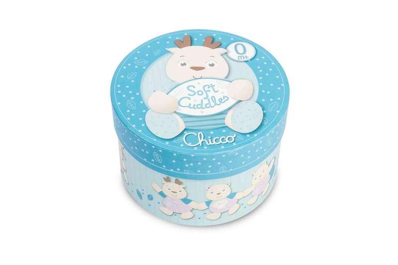 Gioco Renna Soft Cuddles azzurra