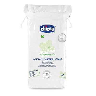 Quadrotti morbido cotone 60 pz