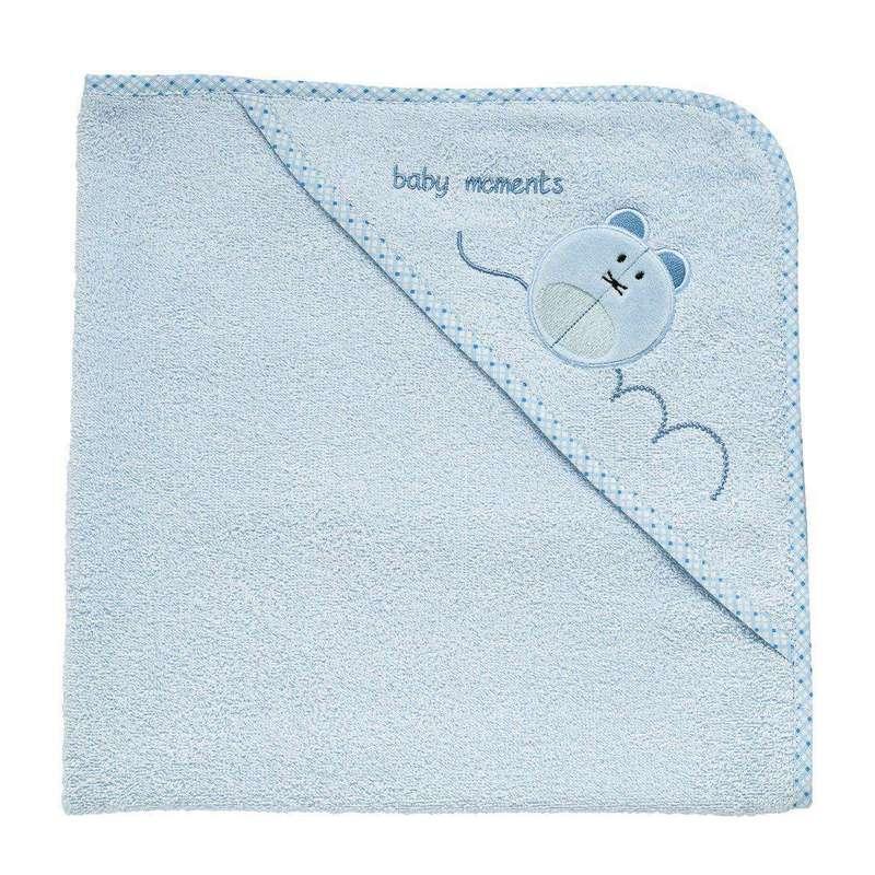 Asciugamano neonato simpatico topolino 0m+