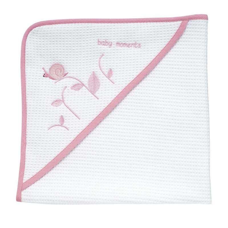 Asciugamano neonato tenera lumachina
