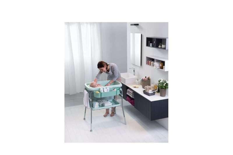 Bagnetto con fasciatoio Cuddle&Bubble Comfort Silver