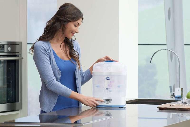 Sterilizzatore per microonde