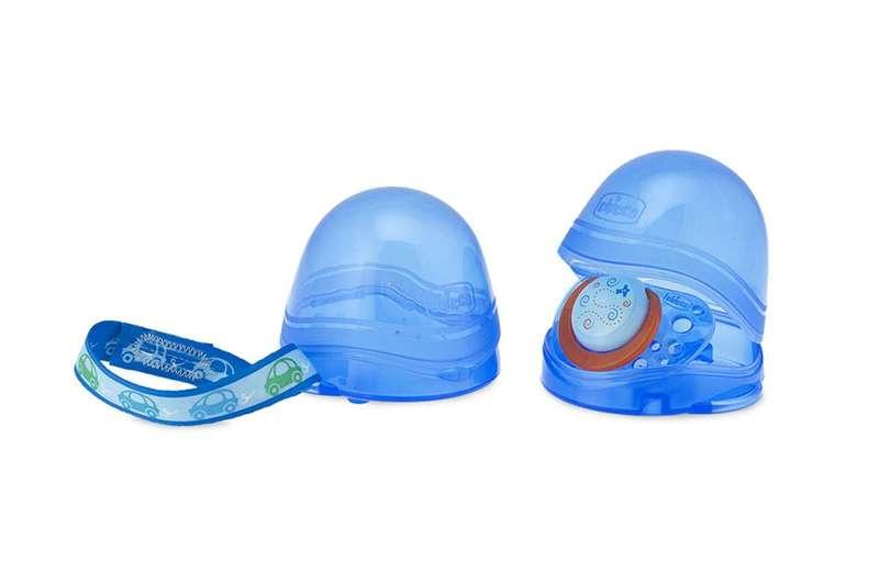 Nuovo portasucchietto doppio Azzurro