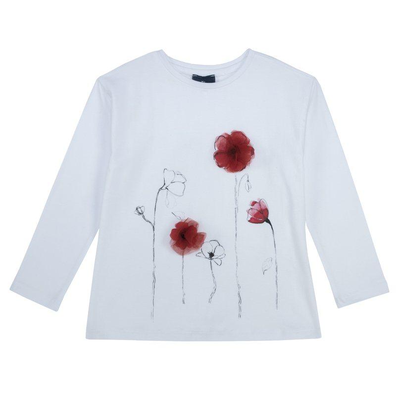 Maglietta con fiori