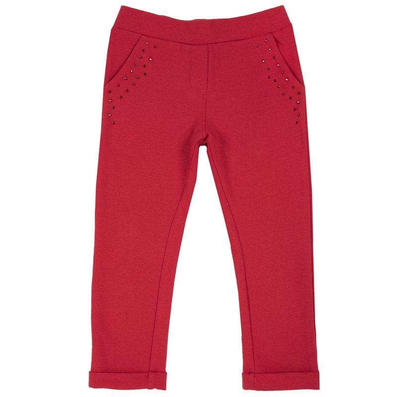 Pantaloni in felpa con strass