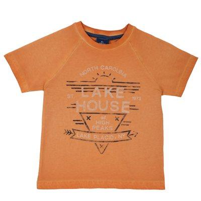 T-shirt con manica corta e stampa