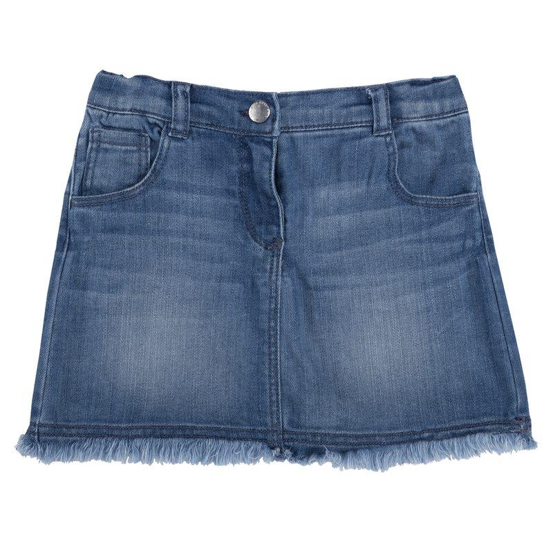 Gonnellina di jeans 9M AZZURRO SCURO