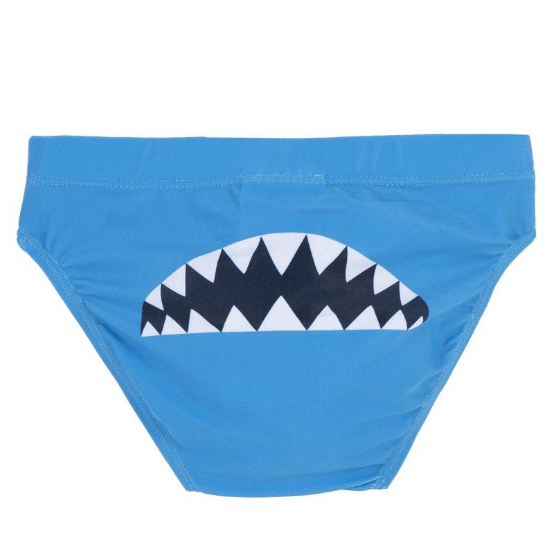 Costume da bagno slip con squalo