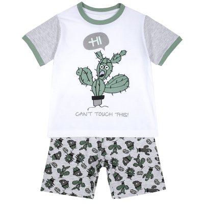 Pigiama corto con cactus