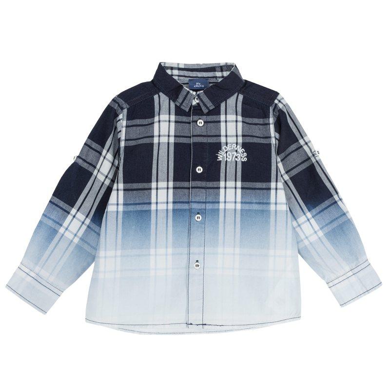 Camicia di cotone con stampa