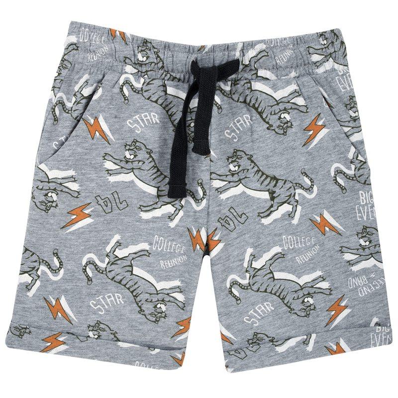 Pantaloncino con tigri