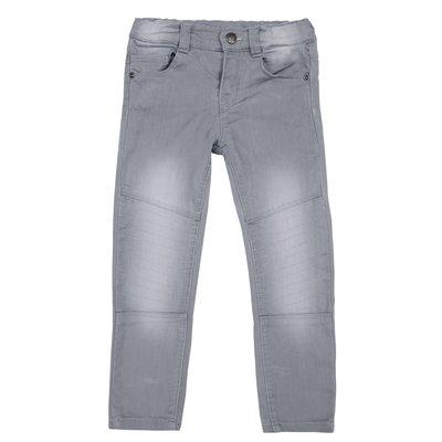 Jeans lungo con cuciture