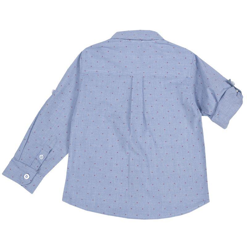 Camicia con manica risvoltabile