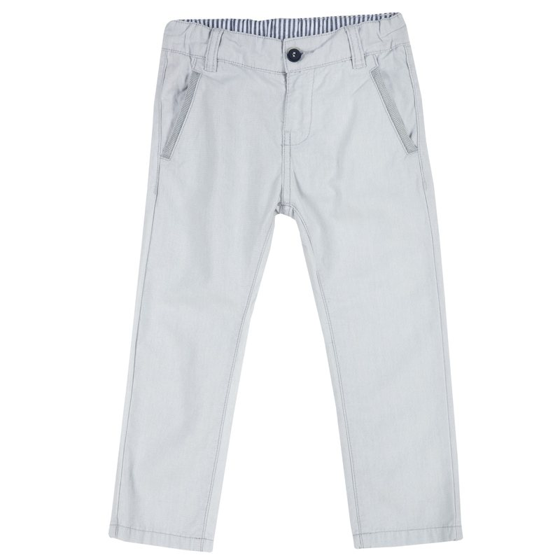 Pantaloni lunghi in tessuto canvas