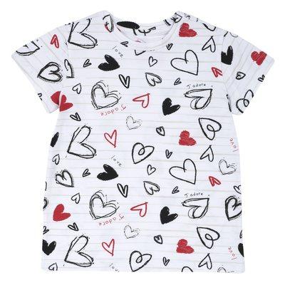 T-shirt di cotone con stampa