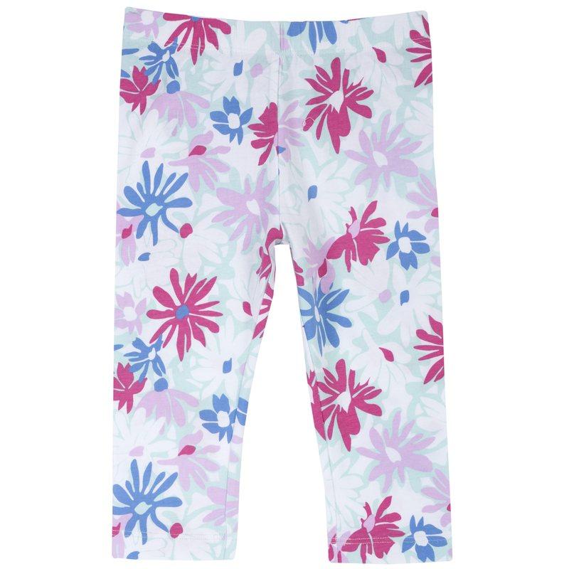 Pantalone pinocchietto con stampa all over