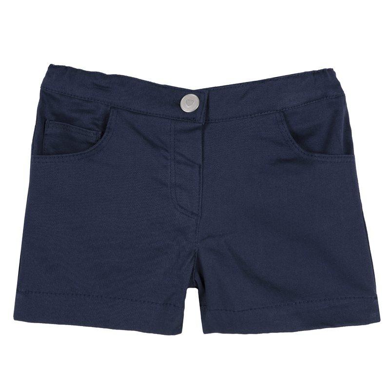 Pantaloncini di rasetto 9M BLU SCURO