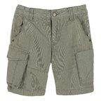 Pantalone corto con tascone 2Y VERDE CHIARO