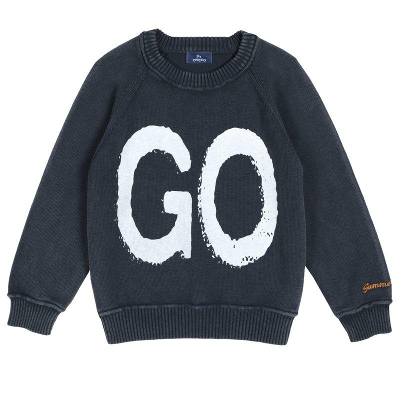 Pullover GO 2Y BLU SCURO