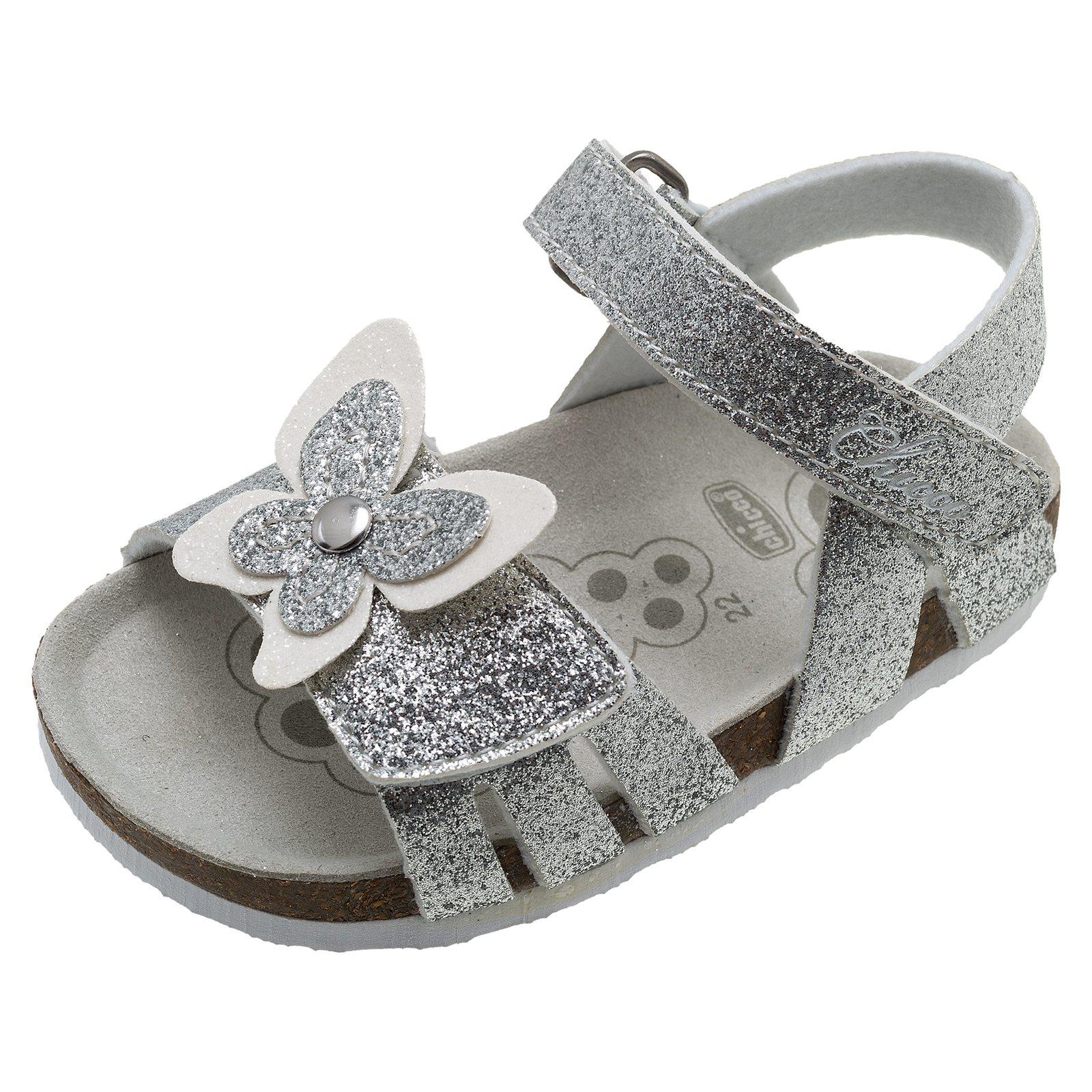sandalo bambina sandalo hastrid argento  d056286279f