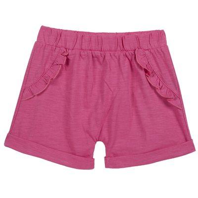Pantaloncini di cotone con volant