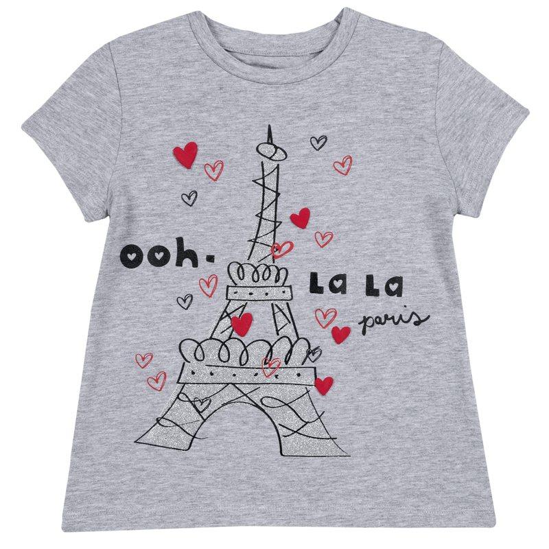 T-shirt con manica corta di cotone