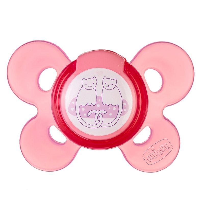 Succhietto Physio Comfort 6-12m Rosa Silicone