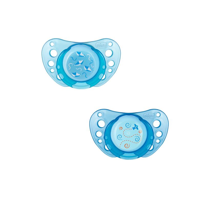 Succhietto Physio Air 0-6m Azzurro Caucciù