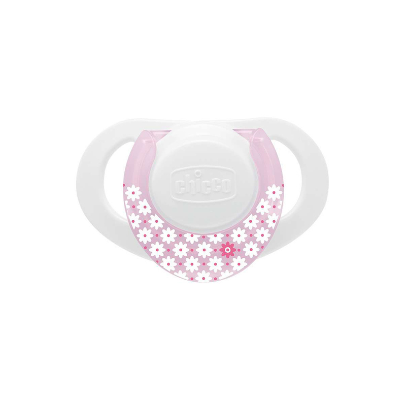 Succhietto Physio Ring 0-6m Rosa Silicone