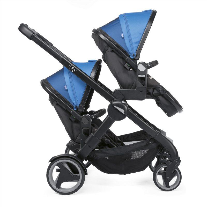 Passeggino Fully Twin Power Blue