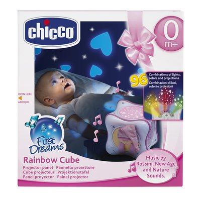 Rainbow Cube Rosa