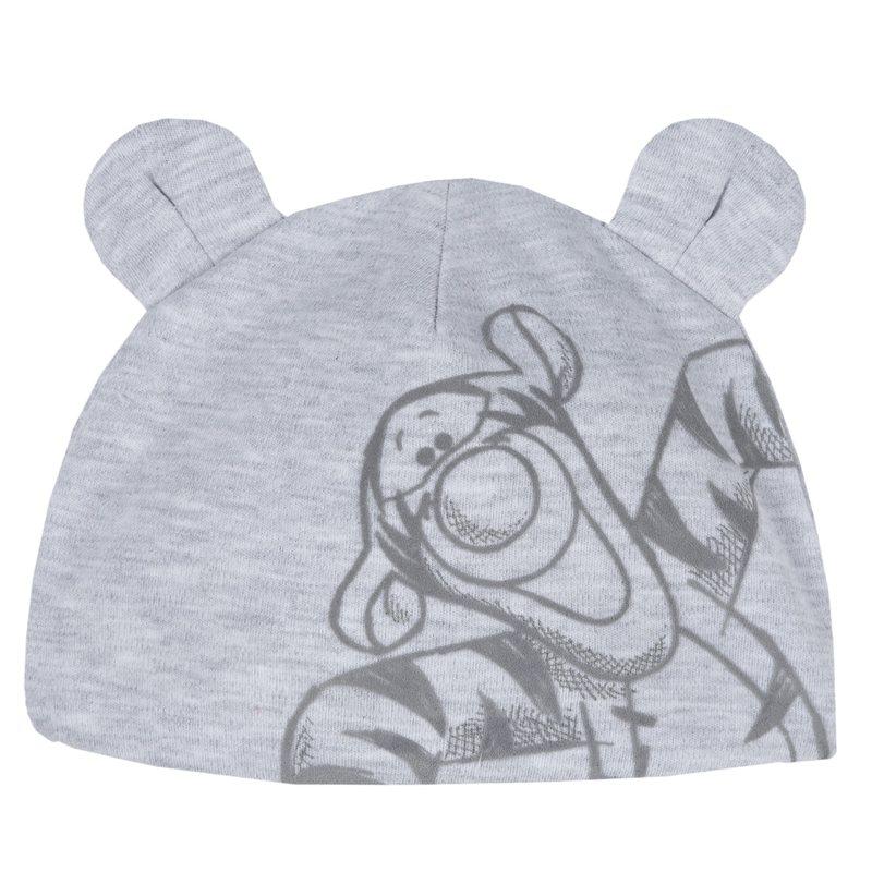Cappello con stampa e orecchiette