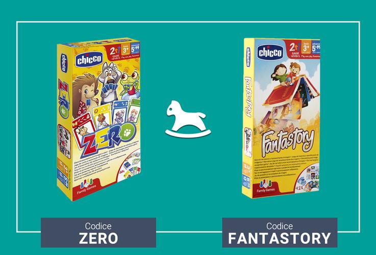 Il family game Fantastory o Zero in omaggio!