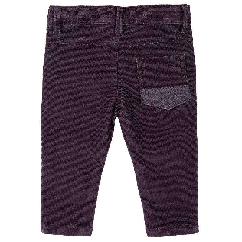 Pantalone di velluto a coste slim fit