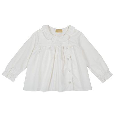 Camicia di flanella con arricciatura
