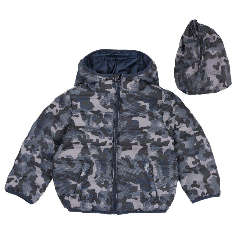 Giubbino con fantasia camouflage 6M