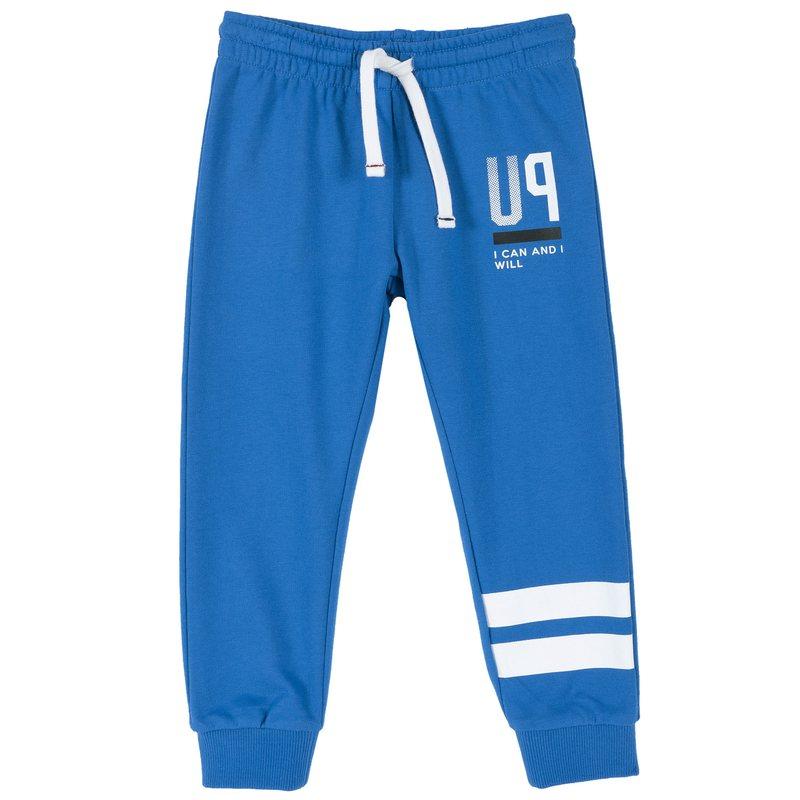 Pantalone lungo di felpa con stampa 9M