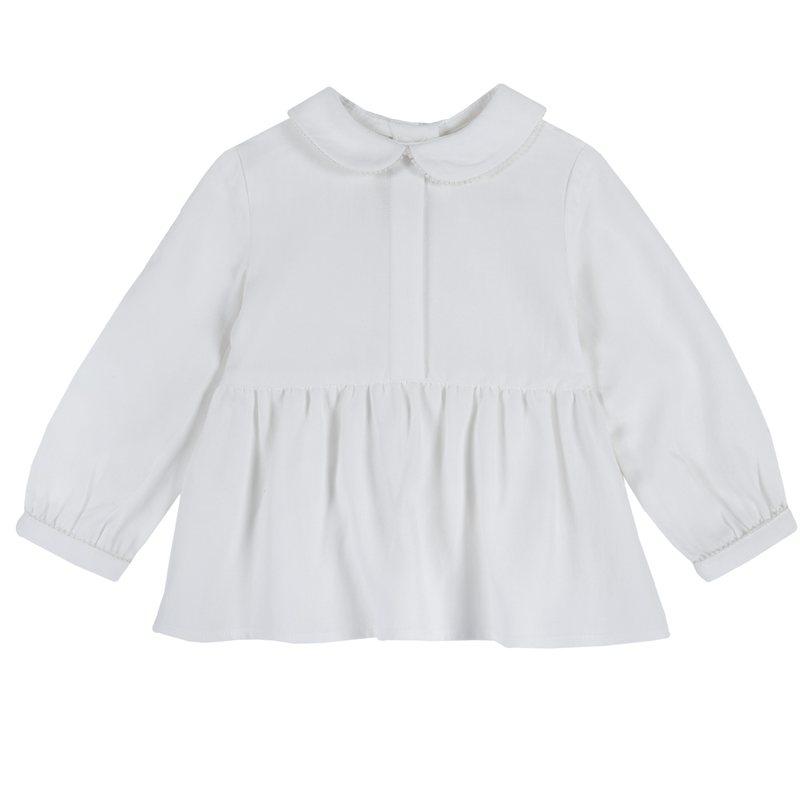 Camicia con manica lunga di flanella