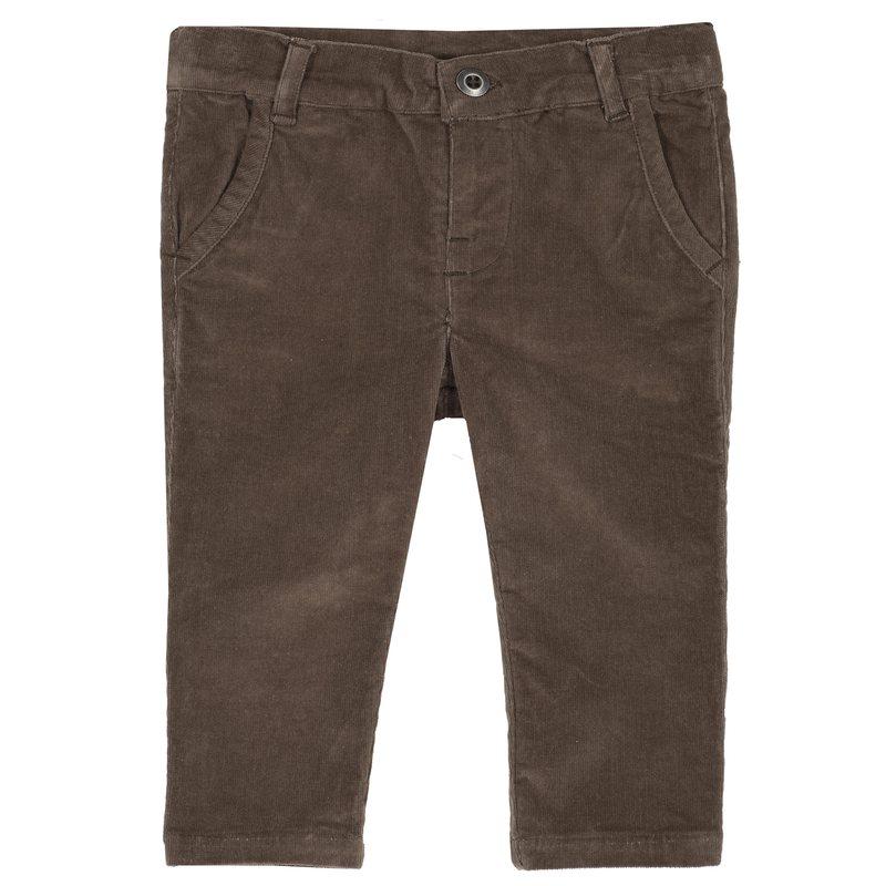 Pantaloni lunghi di velluto