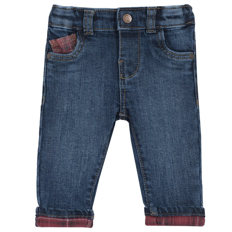 Pantalone lungo denim slim fit