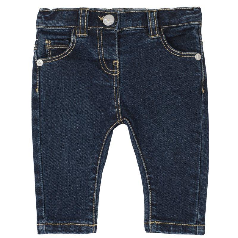 Pantalone lungo in denim stretch