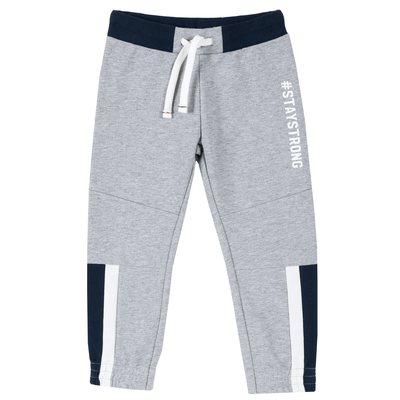 Pantalone lungo di felpa non garzata con stampa